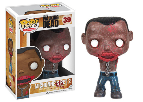 Funko The Walking Dead POP! TV Michonne's Pet 2 Vinyl Figure #39