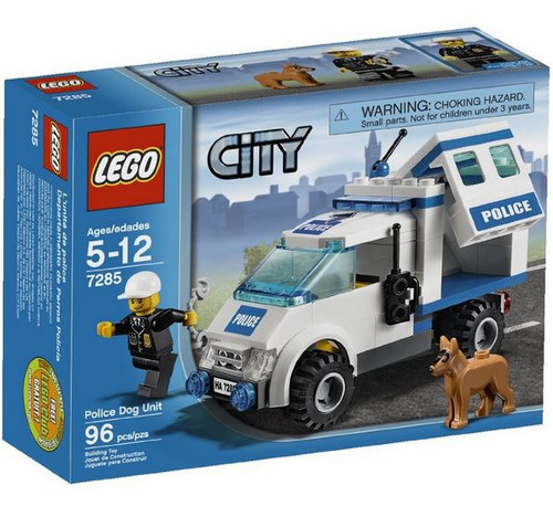 LEGO City Police Dog Unit Set #7285