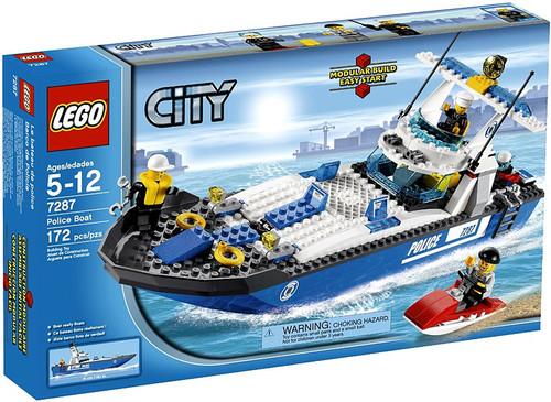 LEGO City Police Boat Set #7287
