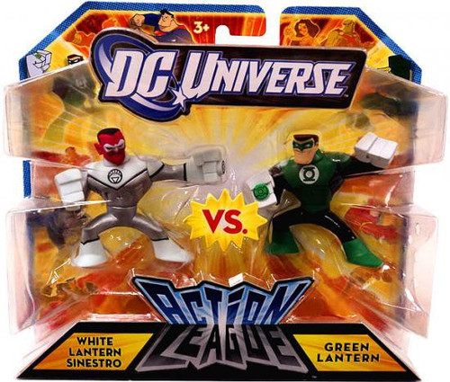 DC Universe Action League White Lantern Sinestro vs. Green Lantern 3-Inch Mini Figures