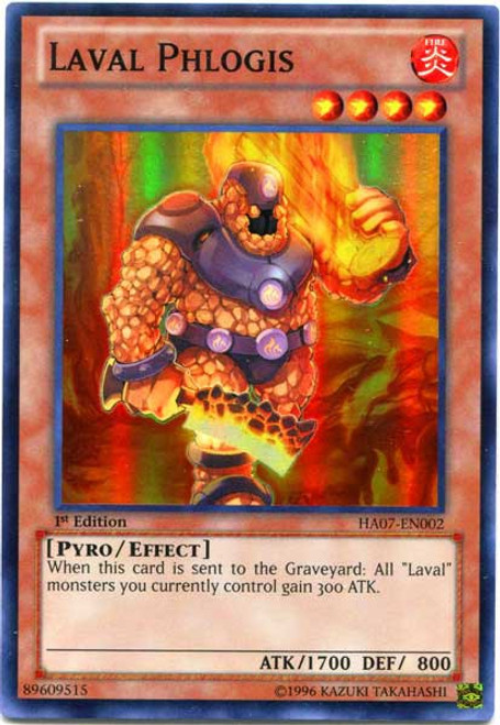YuGiOh Trading Card Game Hidden Arsenal 7: Knight of Stars Super Rare Laval Phlogis HA07-EN002