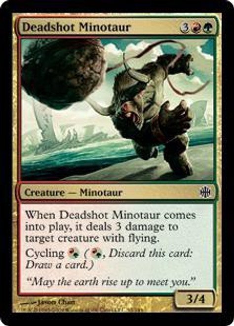 MtG Alara Reborn Common Deadshot Minotaur #52
