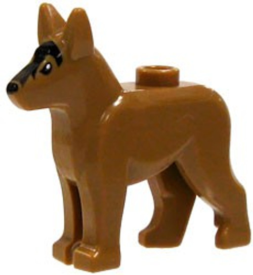 LEGO City Brown Dog #2 [Printed Face Loose]