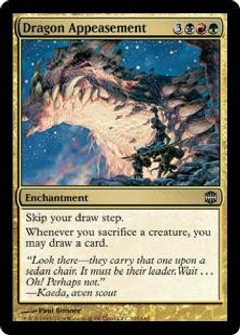 MtG Alara Reborn Uncommon Dragon Appeasement #115