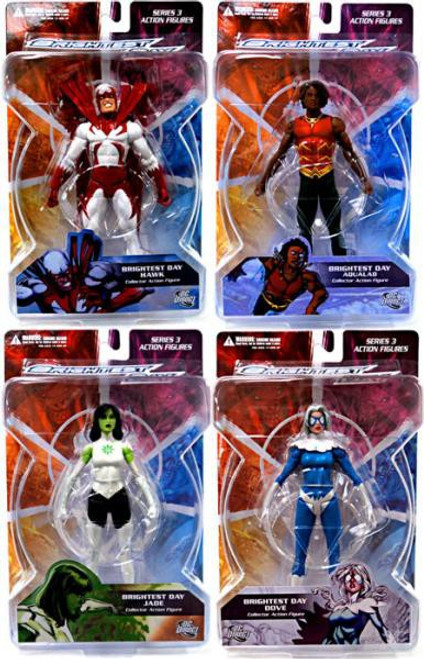 DC Green Lantern Brightest Day Series 3 Set of 4 Action Figures