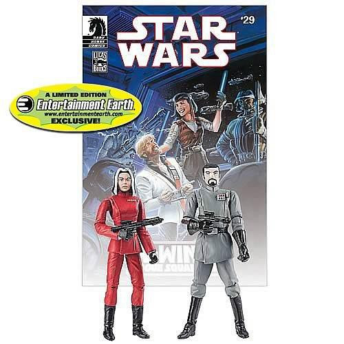 Star Wars Comic Packs 2010 Baron Soontir Fel & Ysanne Isard Exclusive Action Figure 2-Pack