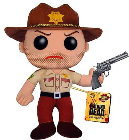 Funko The Walking Dead Rick Grimes 5-Inch Plushie
