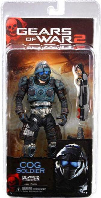 NECA Gears of War 2 Series 6 COG Soldier Action Figure