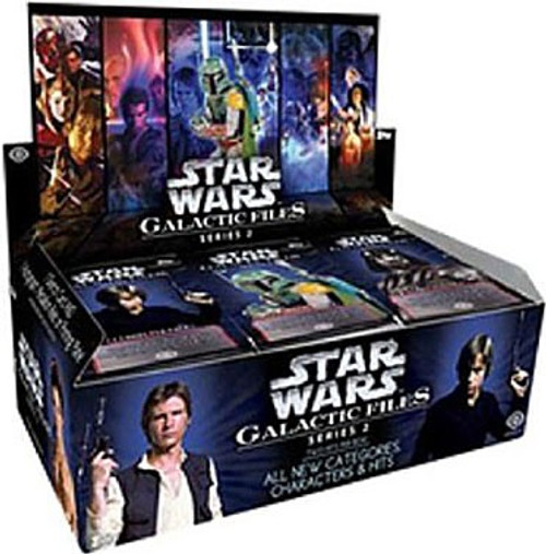 Star Wars Topps Galactic Files Series 2 Trading Card Box [24 Packs]
