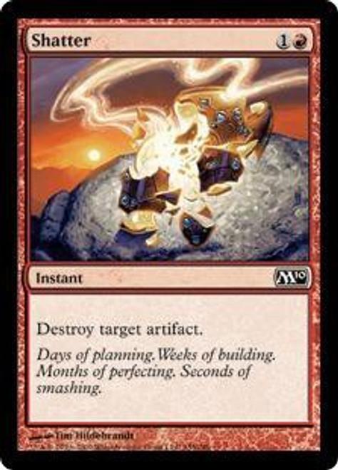 MtG 2010 Core Set Common Shatter #155