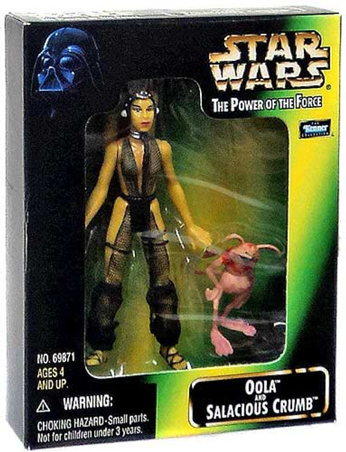 Star Wars Return of the Jedi Power of the Force POTF2 Deluxe Oola & Salacious Crumb Action Figure 2-Pack