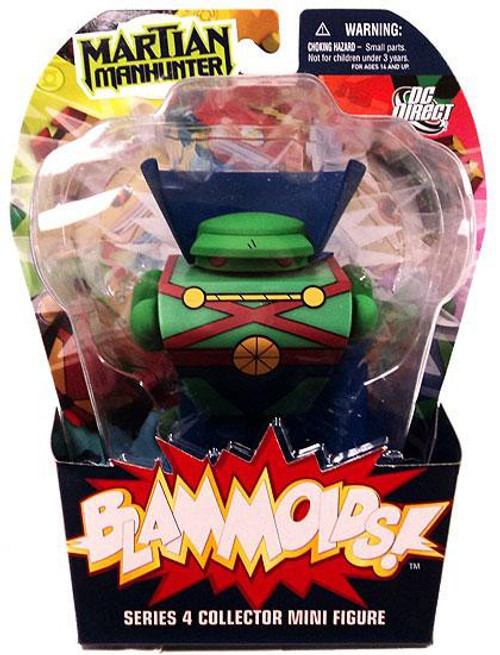 DC Blammoids Series 4 Martian Manhunter Mini Figure