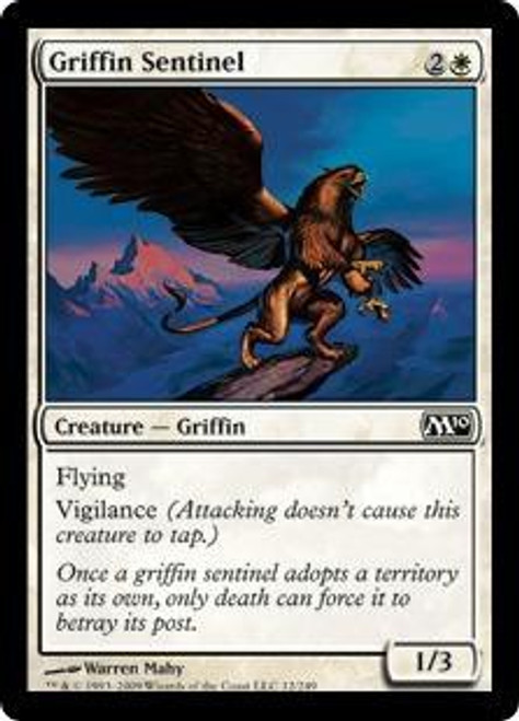 MtG 2010 Core Set Common Griffin Sentinel #12
