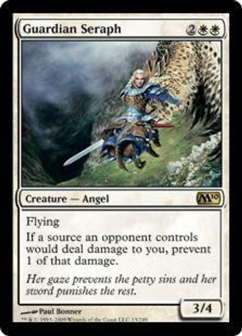 MtG 2010 Core Set Rare Guardian Seraph #13