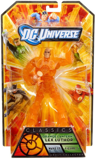 DC Universe Classics Wave 17 Orange Lantern Lex Luthor Action Figure #5