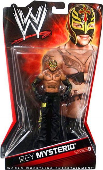 WWE Wrestling Series 9 Rey Mysterio Action Figure