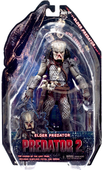 NECA Predator 2 Series 3 Elder Predator Action Figure [1st Version]