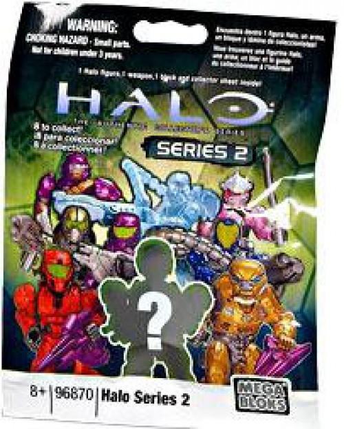 Mega Bloks Halo Series 2 Minifigure Mystery Pack [1 RANDOM Figure]