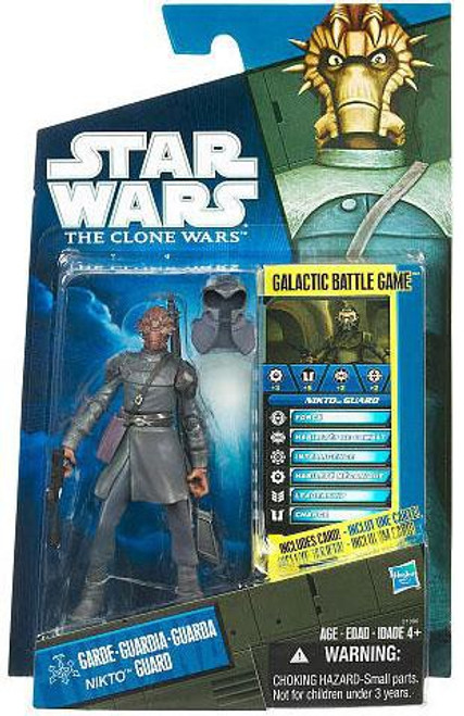 Star Wars The Clone Wars 2010 Nikto Guard Exclusive Action Figure