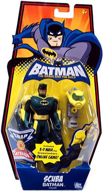 The Brave and the Bold Scuba Batman Action Figure