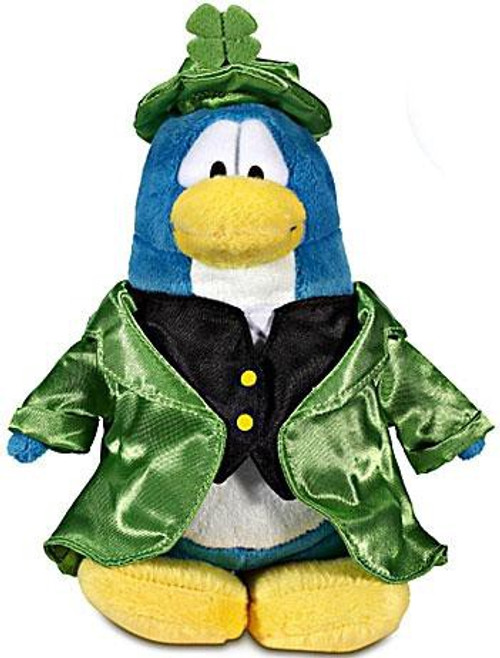 Club Penguin Series 12 Leprechaun 6.5-Inch Plush Figure [Version 2]