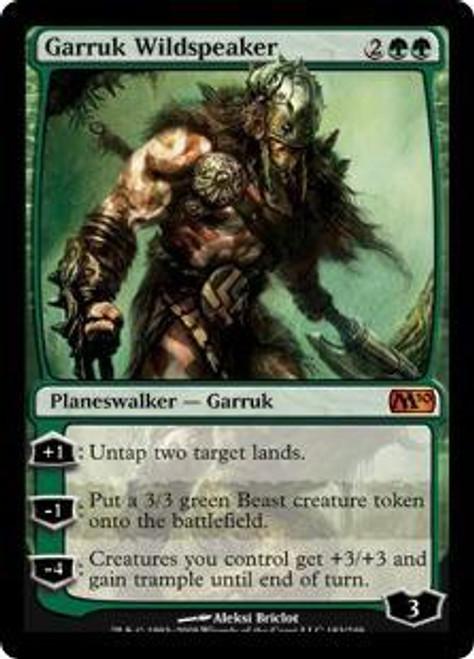 MtG 2010 Core Set Mythic Rare Garruk Wildspeaker #183