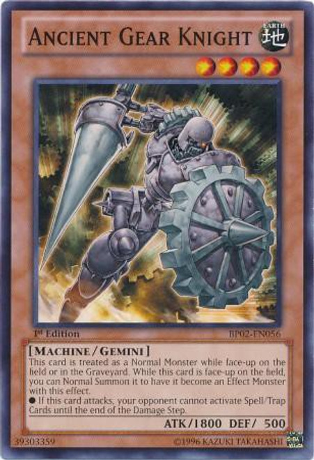 YuGiOh Battle Pack 2: War of the Giants Common Ancient Gear Knight BP02-EN056