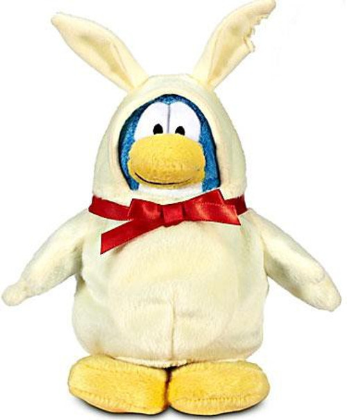 Club Penguin Series 12 Chocolate Easter Bunny 6.5-Inch Plush Figure [White]