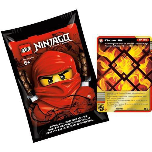 LEGO Ninjago Special Edition with Flame Pit Foil Card Pack