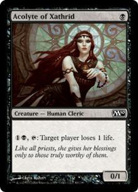 MtG 2010 Core Set Common Acolyte of Xathrid #83
