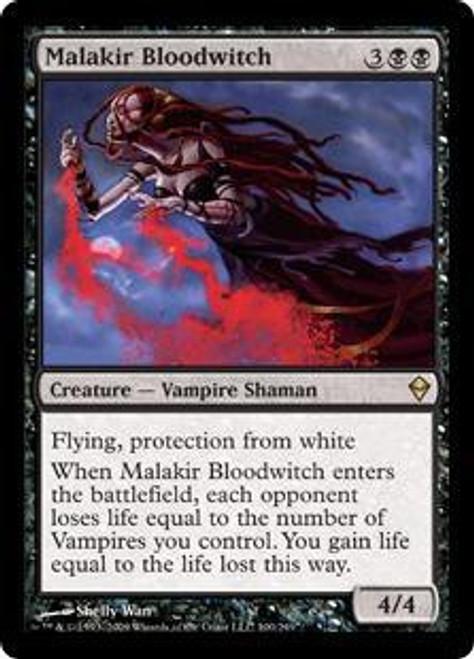 MtG Zendikar Rare Malakir Bloodwitch #100