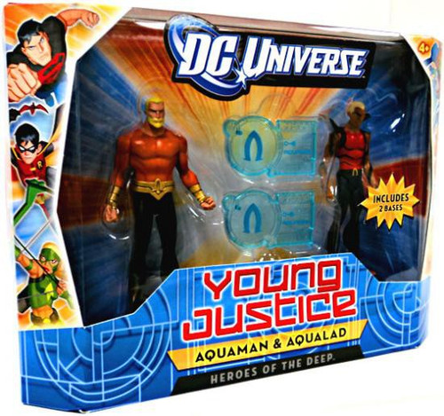 DC Universe Young Justice Aquaman & Aqualad Action Figure 2-Pack [Heroes of the Deep]