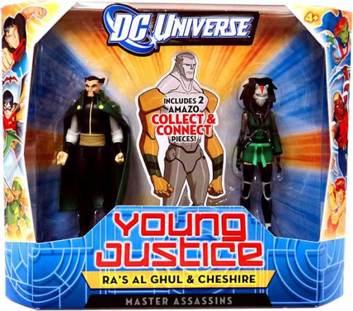 DC Universe Young Justice Ra's Al Ghul & Cheshire Action Figure 2-Pack [Master Assassins]