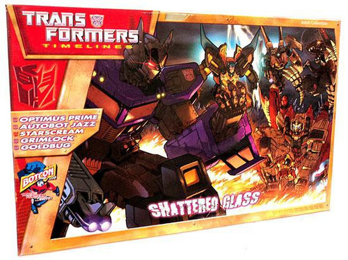 Transformers Timelines Collector's Club Exclusives Shattered Glass Exclusive Action Figure Set