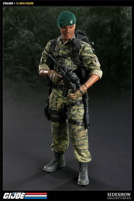 GI Joe Stalker Collectible Figure