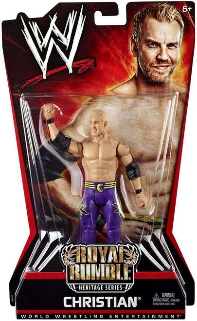 WWE Wrestling Royal Rumble PPV 6 Christian Action Figure