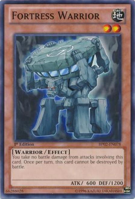 YuGiOh Battle Pack 2: War of the Giants Common Fortress Warrior BP02-EN078