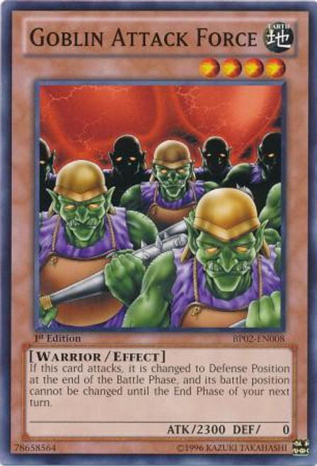 YuGiOh Battle Pack 2: War of the Giants Common Goblin Attack Force BP02-EN008