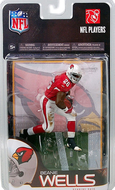 McFarlane Toys NFL Arizona Cardinals Sports Picks Series 23 Beanie Wells Exclusive Action Figure