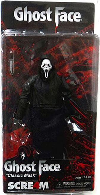 NECA Scream 4 Cult Classics Ghost Face Action Figure [Classic Mask]