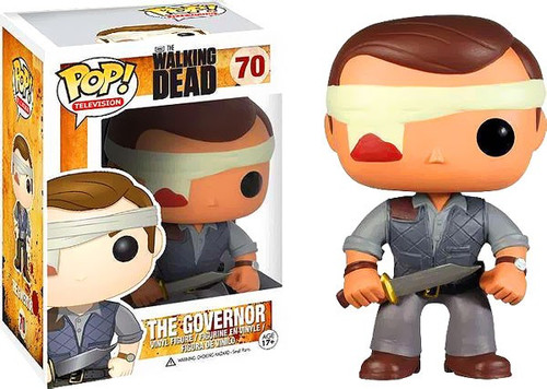 Funko The Walking Dead POP! TV The Governor Exclusive Vinyl Figure #70 [Bandaged]