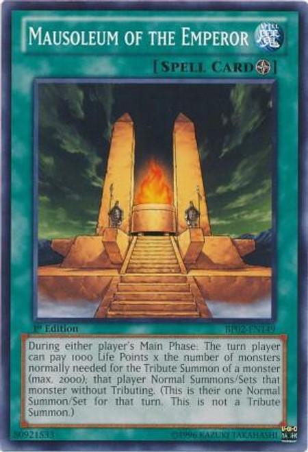 YuGiOh Battle Pack 2: War of the Giants Common Mausoleum of the Emperor BP02-EN149