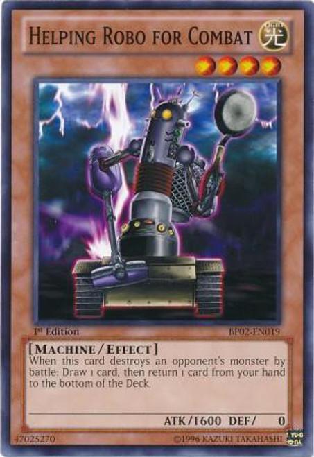 YuGiOh Battle Pack 2: War of the Giants Common Helping Robo For Combat BP02-EN019