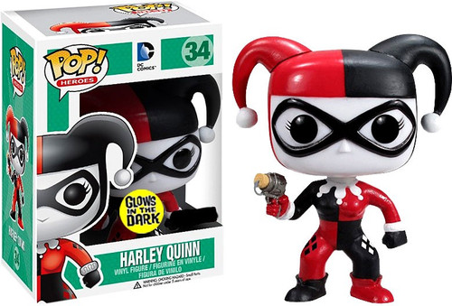 Funko DC Universe POP! Heroes Harley Quinn Exclusive Vinyl Figure #34 [Glow in the Dark]