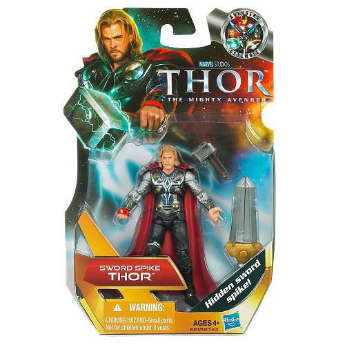 The Mighty Avenger Thor Action Figure #2 [Sword Spike]