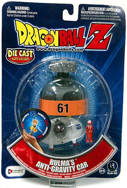 Dragon Ball Z Bulma's Anti-Gravity Car Diecast Figure