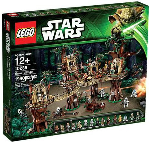 LEGO Star Wars Return of the Jedi Ewok Village Set #10236