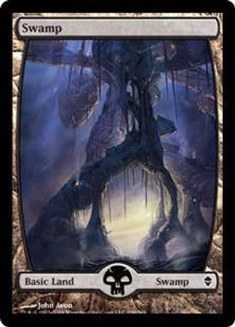 MtG Zendikar Basic Land Swamp #238