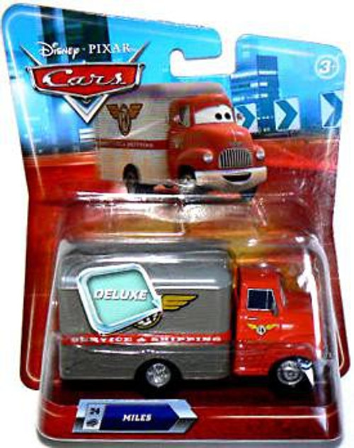 Disney / Pixar Cars Deluxe Oversized Miles Diecast Car