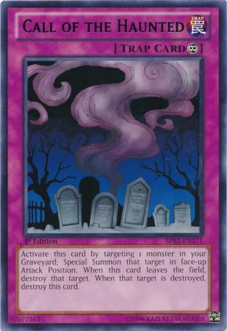 YuGiOh Battle Pack 2: War of the Giants Rare Call of the Haunted BP02-EN171